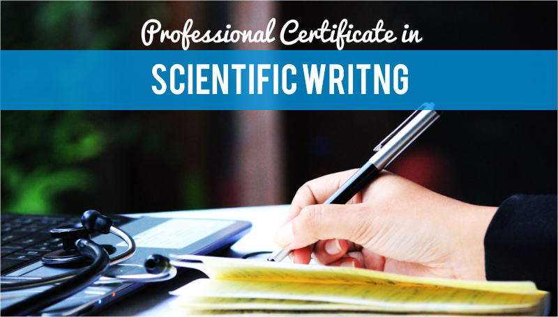 scientific writing course Introductory course this unique three-day course addresses common problems when writing articles and phd theses in english the focus is on scientific writing style rather than grammatical issues, although grammar and punctuation are part of the discussions.